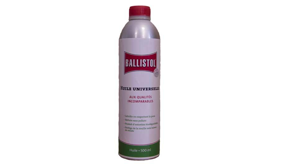 Huile universelle Ballistol respectant la peau et biodégradable